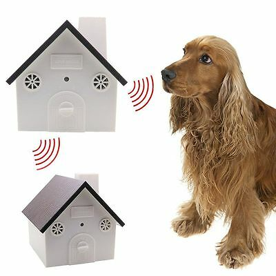 Outdoor Ultrasonic Dog Bark Control Anti Barking Device Open Box - CSB12