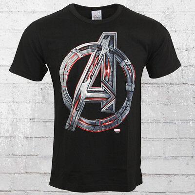 Logoshirt Herren T-Shirt Marvel Avengers Age Of Ultron schwarz Männer Tshirt AOU