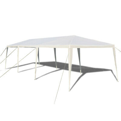 10' x 30' Outdoor Wedding Party Tent Gazebo Canopy Heavy Duty Protection White