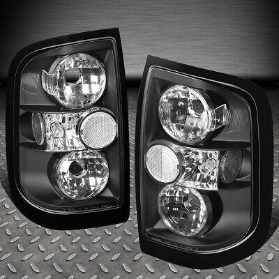 FOR 96-04 NISSAN PATHFINDER/INFINITI QX4 BLACK HOUSING TAIL LIGHT BRAKE LAMPS 97 Nissan Pathfinder Tail Light