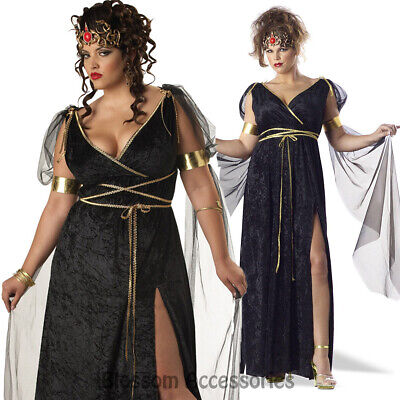 Medusa Plus Size Costume (C812 Medusa The Mythical Siren Greek Goddess Women Plus Size Halloween)