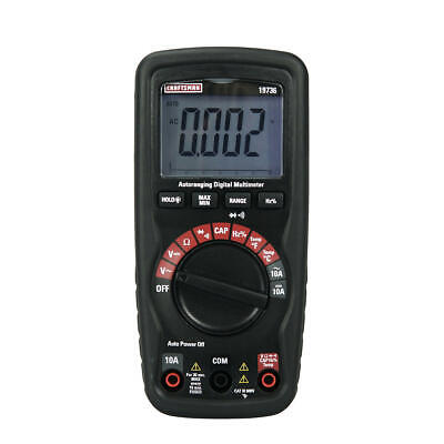 Craftsman Auto-ranging Multimeter With Non-contact Voltage Detector