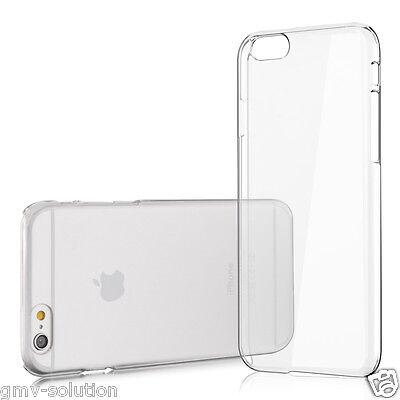 Handy Hülle für iPhone 6/ 6s Crystal Hard Case Transparent Clear Cover Schutz ol Crystal Clear Schutz