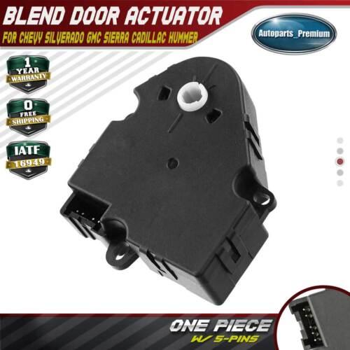 HVAC AC Heater Air Blend Door Actuator for GM Chevy Silverado GMC Sierra 604-106