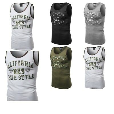 - FashionOutfit Men's Casual Camouflage Printed Sleeveless Tank Top (ONLY $4.99!)