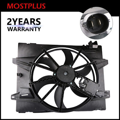 1x Radiator Cooling Fan Assembly For Town Car/Crown Victoria/Grand Marquis -