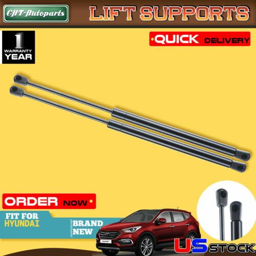 2x Hood Lift Supports Shock Struts Springs Props for Hyundai Santa Fe 2007-2012