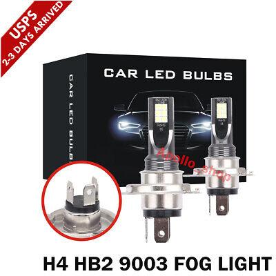 H4 LED Headlight Kit 9003 1500W Fog Lights High Low Beam 225000LM CREE DRL Bulbs