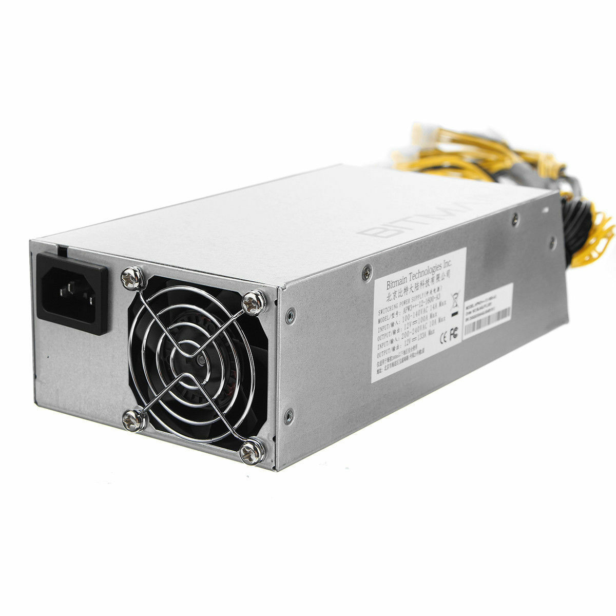 Original antminer apw3++ psu 1600w power supply for bitmain d3 s9 s7 l3 b3 x3 t9
