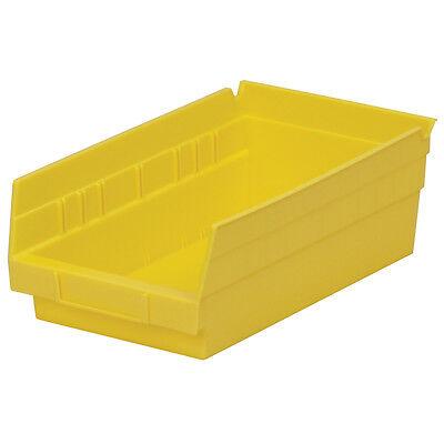 Akro-mils 30130yello Shelf Bin 11-58d X 6-58w X 4h Yellow 12 Pack