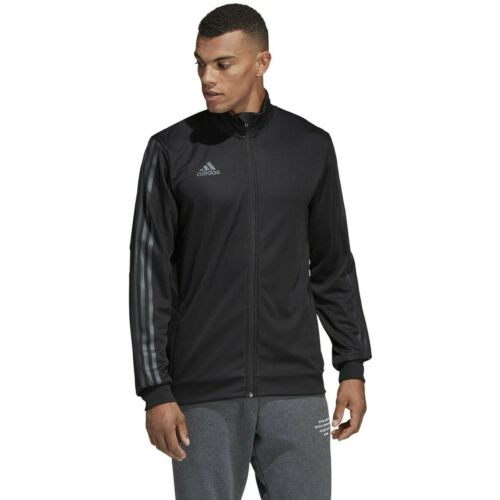Mens Adidas AFS Tiro Track Jacket Black Front Zip Athletic Top DZ8782 Size M-XXL
