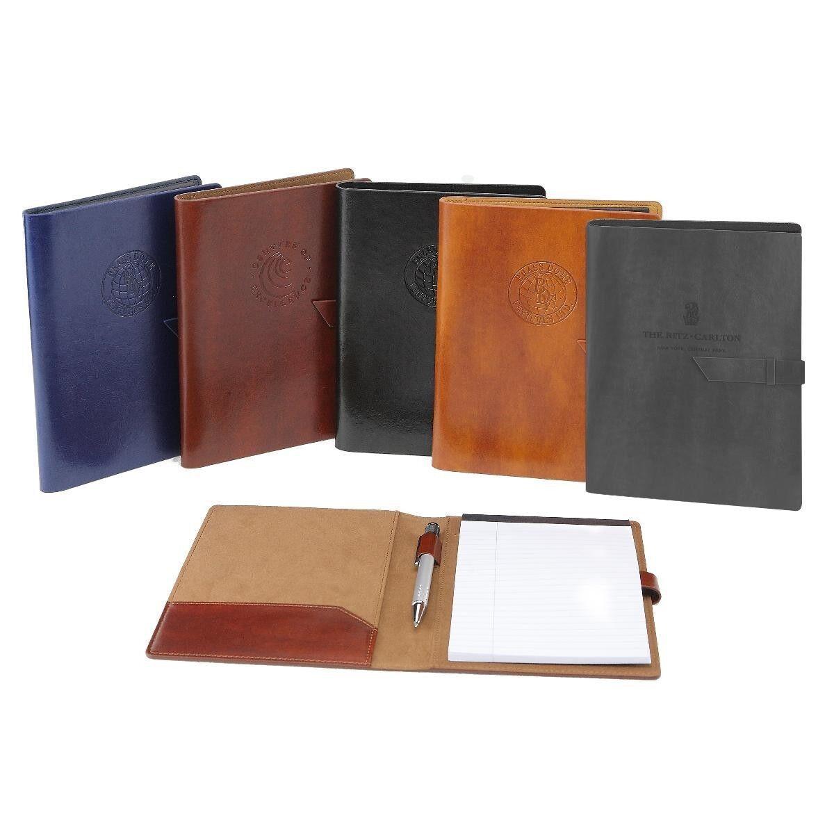Italian Leather Business Padfolio Portfolio Organizer Resume