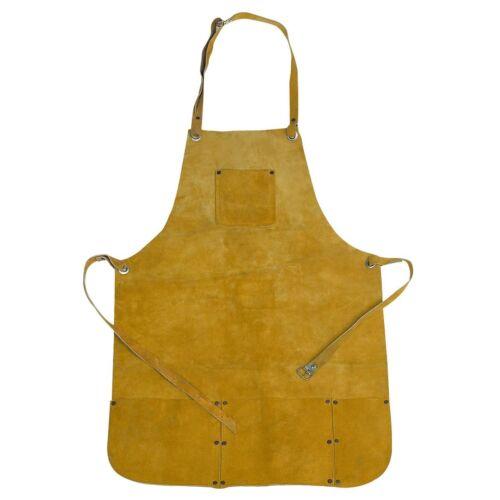 Apron Split Leather Protectine clothing, Gardening, Welding, Carpentry,,