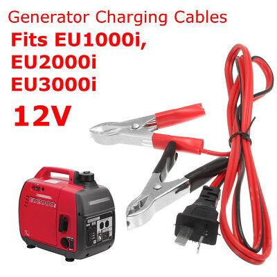 12V Batterie Ladekabel Stecker Stromgenerator Stromerzeuger Für EU1000i EU2000i