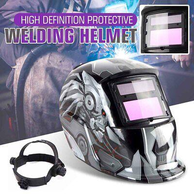 True Color Pro Solar Auto Darkening Welding Helmet Arc Tig Mig Welder Mask Us