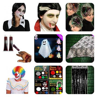 trucco di Halloween PITTURA VISO KIT Zombie DEMONIO, strega, Vampiro set trucco
