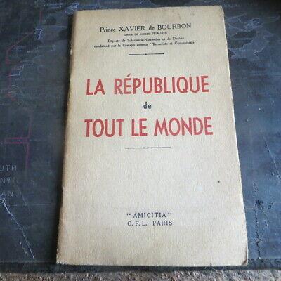 LA RÉPUBLIQUE DE TOUT LE MONDE