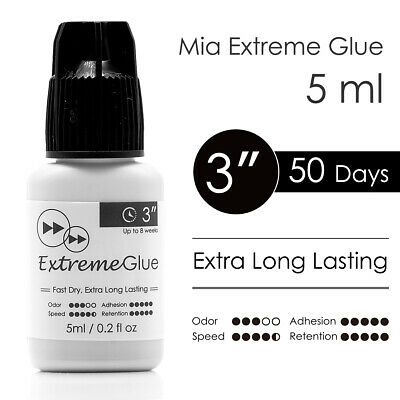 Eyelash Extension Glue Mia Extreme Lash Adhesive Fast Strong Extra Long Lasting