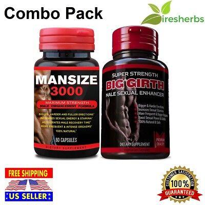 #1 BEST MALE PENIS ENLARGER BIG GIRTH & MANSIZE 3000 4