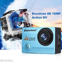 Excelvan Q8 Wi-fi 4k 16mp 30fps 30m Impermeabile Grandangolo Obiettivo -  - ebay.it