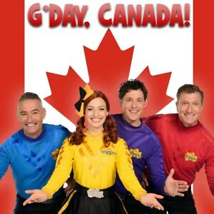 4 Wiggles Tickets Sunday Oct 14 @ 12:30pm Sony Centre
