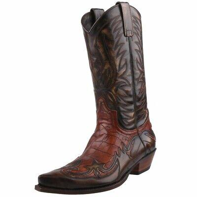 NEU SENDRA COWBOYSTIEFEL WESTERNSTIEFEL STIEFEL 3241 Braun - Neu Western Cowboy Stiefel