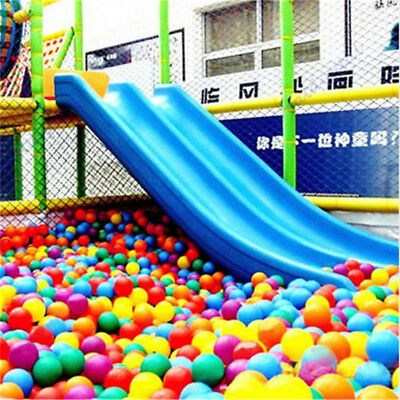 800PCS Colorful Plastic 5.5cm Ocean Ball Soft Secure Swim Pit Baby Kid Toy US