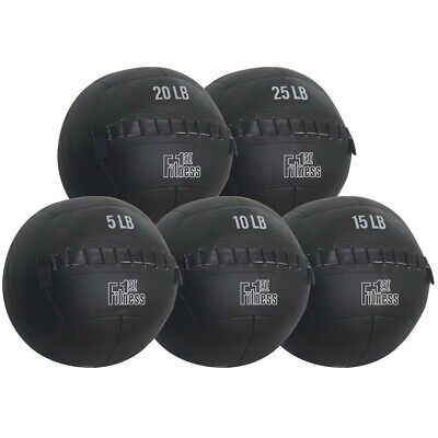 Fitness First Medicine Wall Ball Weighted Home Core Workout Strength Training