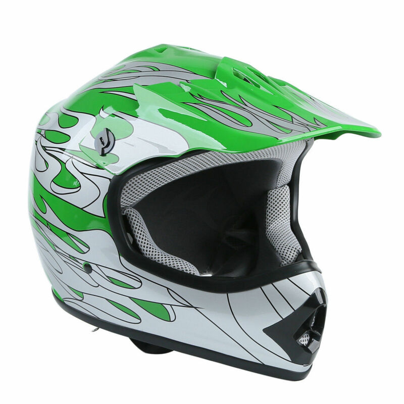 DOT Youth Helmet Child Kids Motorcycle Full Face Offroad Dirt Bike ATV S M L XL