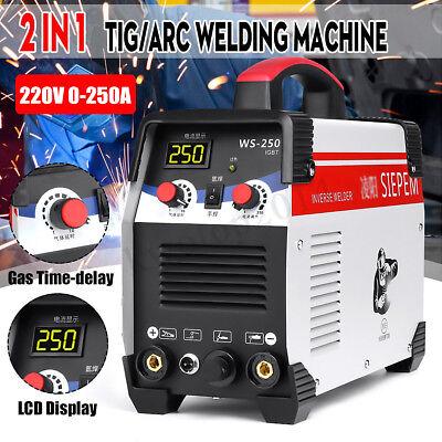 220v 7000w 2in1 Tigarc Welding Machine 250a Mma Igbt Inverter Ws-250 Welder Kit
