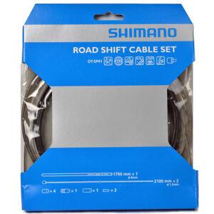 New Shimano Road Dura Ace Shift/Derailleur Cable Set Fits: Ultegra, 105: Black