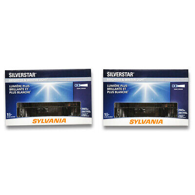 Sylvania SilverStar High Beam Low Beam Headlight Bulb for Chevrolet Blazer ot