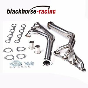 ford 302 headers tri y stainless steel exhaust headers fit ford sb 289 302 351w mustang 1964