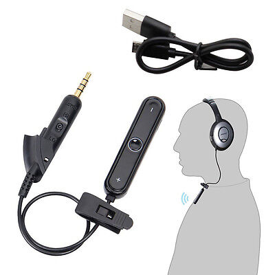 Bluetooth Wireless Receiver Adapter Cable For QuietComfort QC15 Headphones