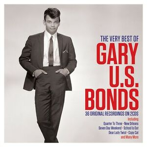 Gary US Bonds - The Very Best Of - 36 Original Recordings (2CD) NEW/SEALED