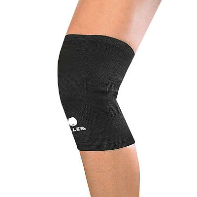 Mueller Sports Medicine Lightweight Elastic Knee Support Sleeve - Black