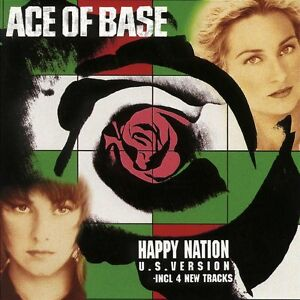 cd-audio-Happy-Nation-Import-Ace-of-Base-Artista-Formato-Audio-CD