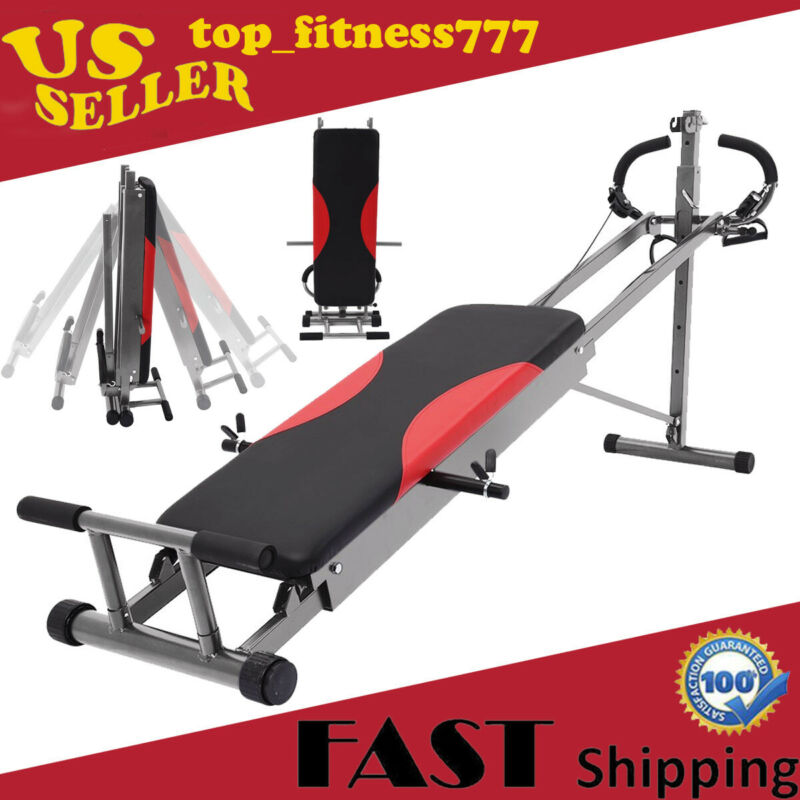 Total Gym Home Exercise Fitness Gym Machine Ab Trainer Worko