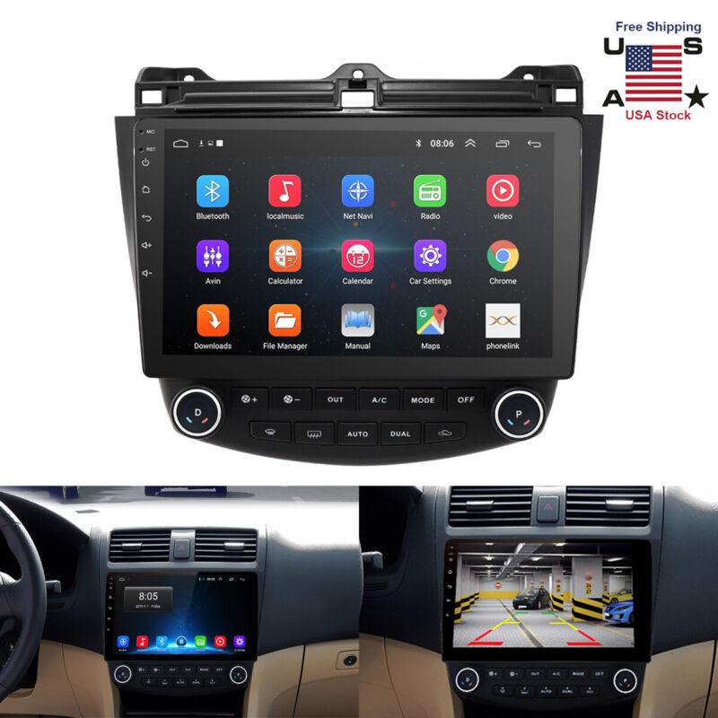 "For Honda Accord 2003-2007 10.1"" Android 9.1 Stereo Car Radio GPS MP5 Player US"