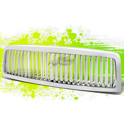 FOR 94-01 DODGE RAM 1500 TRUCK BR/BE SPORT FRONT HOOD BUMPER GRILL/GRILLE CHROME Br Chrome Grille Grill