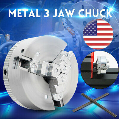 Metal 3 Jaw Self-centering Lathe Chuck M12x1 45mm For Mini 6 In 1
