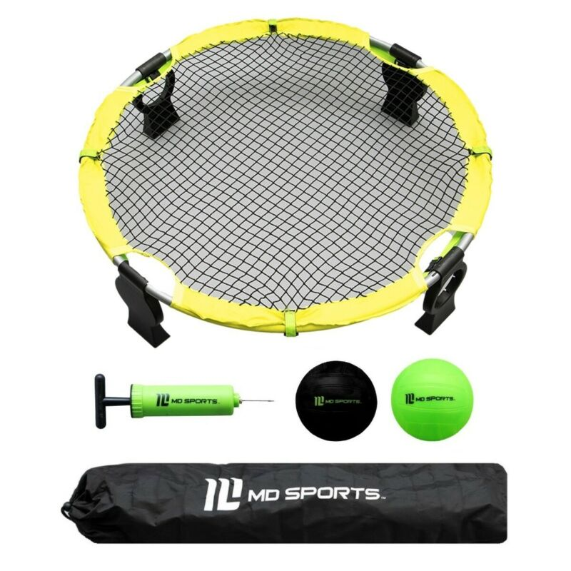 MD Sports Pro 360° Spike Battle Ball Portable Outdoor Game Set For Kids Family