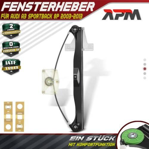 Fensterheber elektrisch Hinten Links für Audi A3 Sportback 8P 03-13 8P4839461A