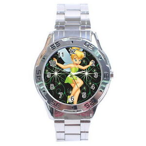 Tinker-Bell-Stainless-Steel-Analogue-Watch-for-Men-NEW-Fashion-Gift-HOT