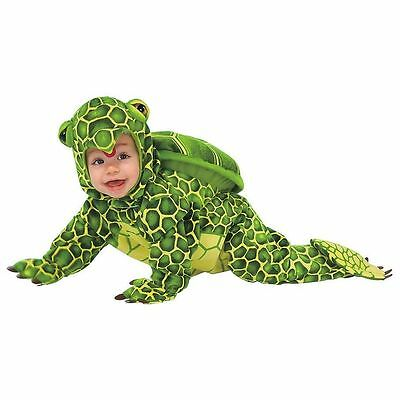 Childrens Toddlers Green Sea Turtle Tortoise Play NEW Halloween Party Costume - Sea Turtle Halloween Costume