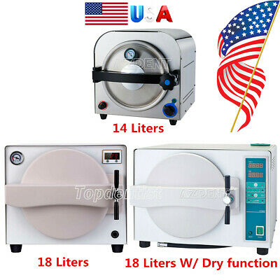 14l18l Autoclave Steam Sterilizer Drying Function Medical Dental Sterilization