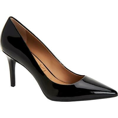 Calvin Klein Womens Gayle Black Dress Heels Shoes 6.5 Medium (B,M) BHFO 2691
