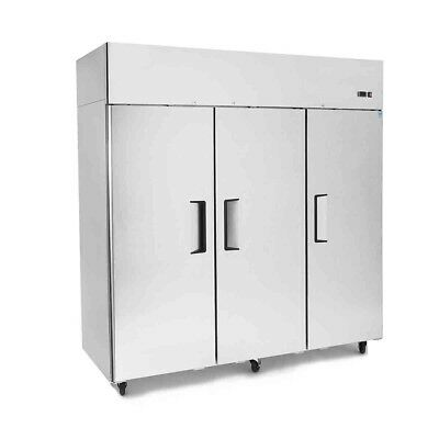 Commercial Refrigerator Top Mount 3 Three Door