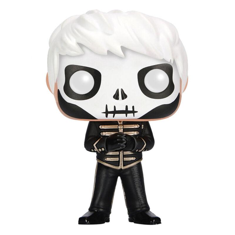 MCR 2015 Hot-Topic Funko Pop Rocks Gerard Way Skeleton Figure #41 Protector Case