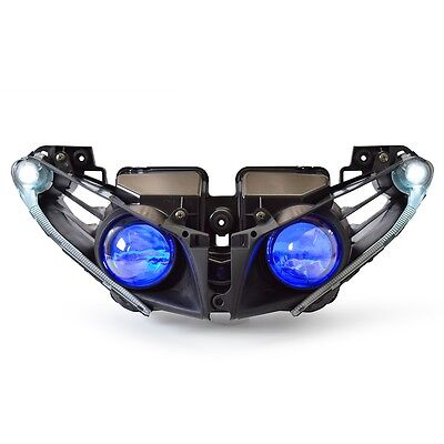 KT LED Headlight for Yamaha YZF R1 2012-2014 Blue